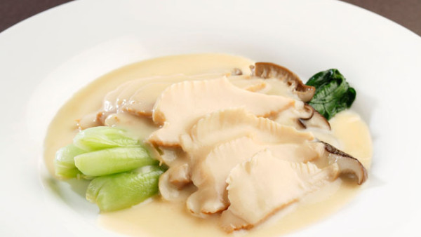 braised abalone with cream